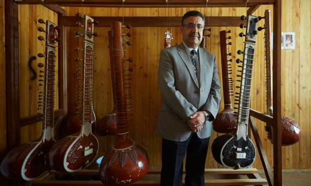 He was the saviour of Afghan music. Then a bomb took his hearing