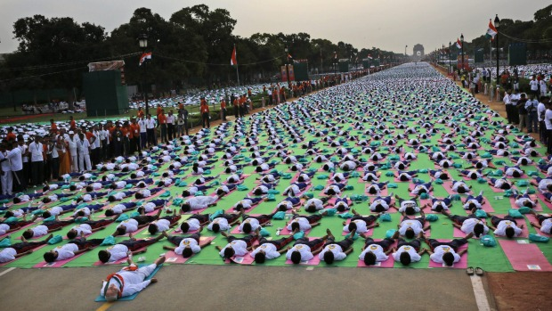 Australia joins India for International Yoga Day