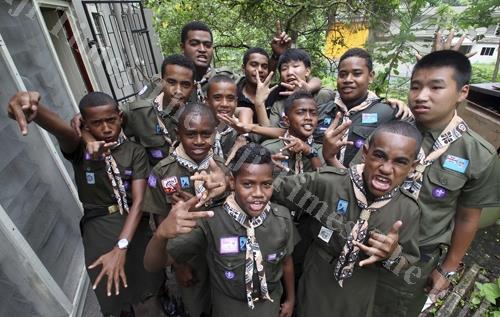 Australia trip for 17 Fiji Scouts.