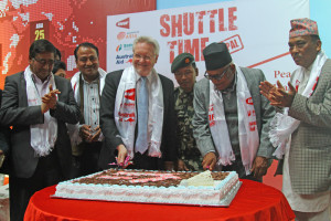 Launch of Shuttle Time Nepal