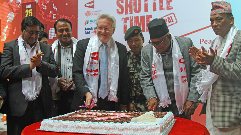Shuttle Time Nepal project launched