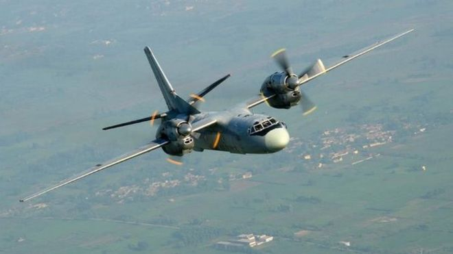 India launches massive search operation for missing military plane