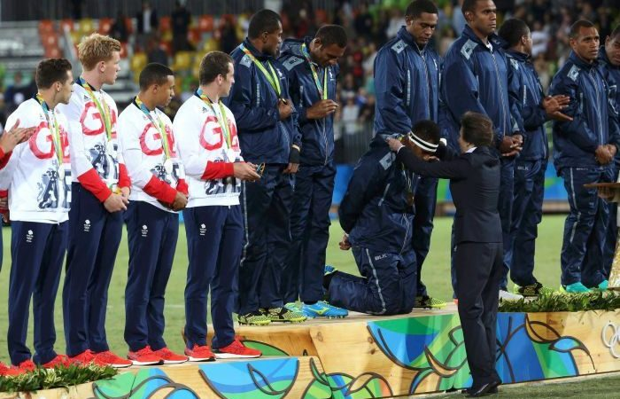 Rio 2016: Fiji storms to sevens gold, claiming first-ever Olympic medal