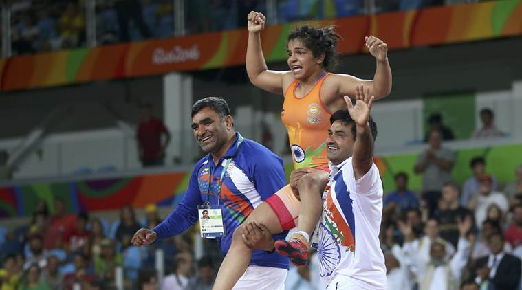 Sakshi Malik creates history with sensational win in bronze medal play-off