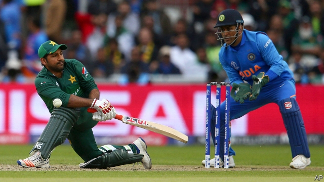 For India and Pakistan, cricket is war by other means