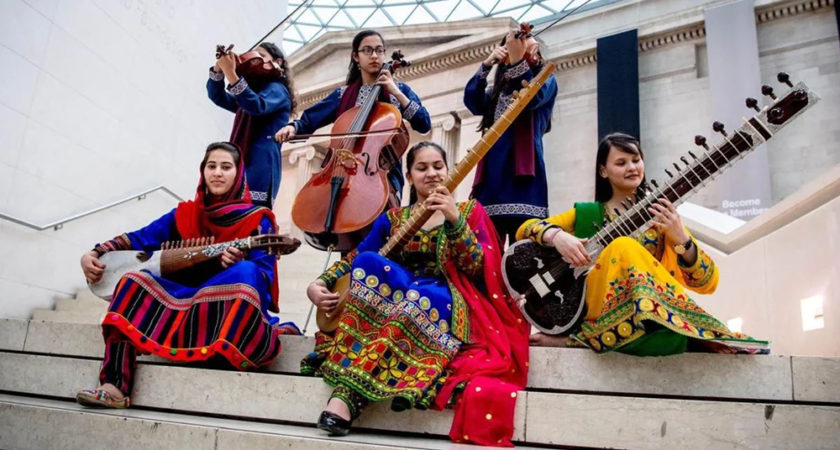 Afghanistan's first all-female orchestra tours Australia